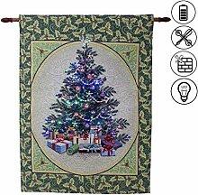 abc HOME living Wandteppich Wanddeko Weihnachten