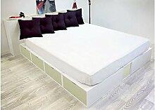 ABC MEUBLES - Doppelbett Boxen mit Schubladen -