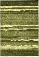 ABC Tappeti Teppich Gabbe grün 80 x 150 cm