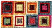 ABC Tappeti Teppich Gioia lila/mehrfarbig 60 x 110