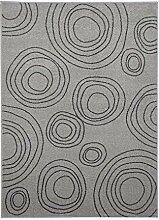 ABC Tappeti Teppich Home grau 120 x 170 cm