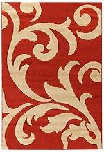 ABC Tappeti Teppich Palazzo rot/beige 80 x 150 cm