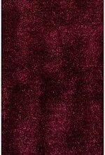 ABC Tappeti Teppich Shaggy Como lila 140 x 200 cm