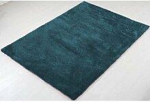 ABC Teppich Shaggy Como blau 140 x 200 cm