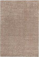 ABC Teppich Shaggy Elegance braun 60 x 120 cm