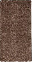 ABC Teppich Shaggy Elegance dunkelbraun 60 x 120 cm