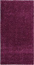 ABC Teppich Shaggy Elegance lila 80 x 150 cm