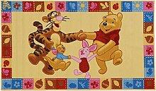 ABC Teppich Winnie & Friends beige 80 x 140 cm