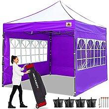 ABCCANOPY 3 x 3 m Pop-Up-Pavillon mit