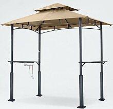 ABCCANOPY Grillpavillon, 2,4 x 1,5 m, zweistufig,