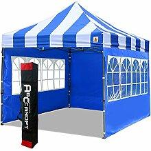 ABCCANOPY Pavillon 3x3m WASSERDICHT Flatpavillon