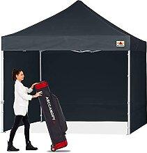 ABCCANOPY Pop-Up-Pavillon mit Seitenteilen und