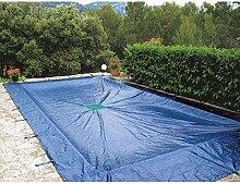 Abdeckplane 2x 3m Schwimmbecken, rechteckig (140g/m