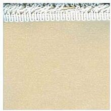 Abdeckung Gartentisch–Vorhang Xtra weiß Acryl Uni 250x 140beige [Xtra weiß]