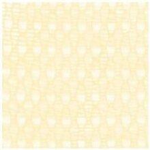 Abdeckung Gartentisch–Vorhang Xtra weiß Sonne Kescher 250x 150beige [Xtra weiß]