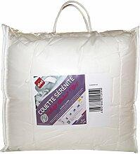 Abeil Bettbezug, Baumwolle/Polyester, Weiß,