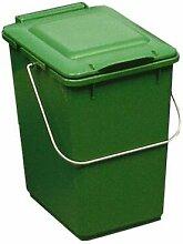Abfallbehälter | 10 l | Grün | Certeo