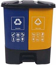 Abfallbehälter Klassifizierung im Freien