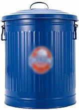 Abfallbehälter Vintage Retro Eisen Mülleimer mit