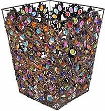 Abfalleimer Europäische Retro Large Farbe Perlen
