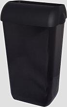 Abfalleimer Metzger 25 Liter schwarz