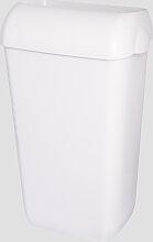 Abfalleimer Metzger 25 Liter weiss