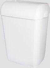 Abfalleimer Metzger 45 Liter weiss