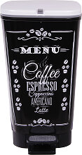 Abfalleimer Mülleimer Chic Coffee 25 Liter