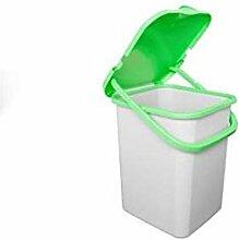Abfalleimer Mülleimer Mülltrennung Ultra strapazierfähig 30Lt grün trt440
