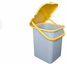 Abfalleimer Mülleimer Mülltrennung Ultra strapazierfähig 18L gelb trt425