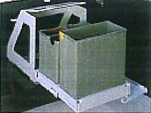Abfallsammler dreifach getrennt 1 x 22 Liter und 2