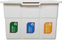 Abfallsammler Mülleimer Ecopa