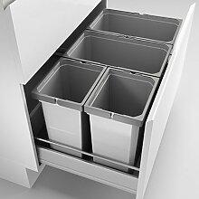 Abfallsorter Cox Box 2T/800-4 mit vierfach