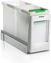 Abfallsorter STALA EKO2-1 für Bodenmontage / ab