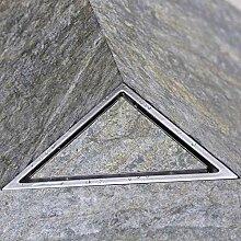 Abflusssieb Dusche Sieb Abfluss Triangle Edelstahl