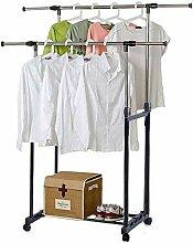Ablage Kleiderstange, Kleiderständer Metall
