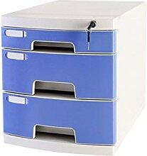 Ablagesysteme Schreibtischschrank 3 Schubladen
