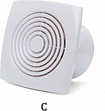 Abluftventilator für Toilette, geräuscharm,