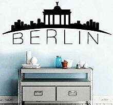 Abnehmbare Berliner Wandkunst Aufkleber Aufkleber