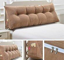 Abnehmbare dreieckige Bett mit großen Kissen Bedside Soft Bag Sofa mit großer Rückenlehne ( Farbe : A5 , größe : 150cm )