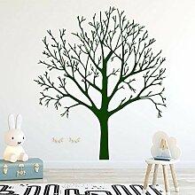 Abnehmbare grüne Baum Vinyl Küche Wandaufkleber