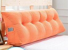 Abnehmbare Triangle Bedside Kissen Bett Rückenlehne Kissen Bedside Soft Case Bett Kissen ( farbe : # 7 , größe : 120cm )