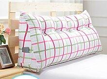 Abnehmbare Triangle Bedside Kissen Bett Rückenlehne Kissen Bedside Soft Case Bett Kissen ( farbe : # 9 , größe : 120cm )