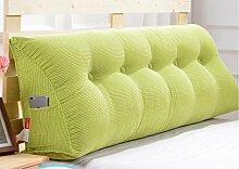 Abnehmbare Triangle Bedside Kissen Bett Rückenlehne Kissen Bedside Soft Case Bett Kissen ( farbe : # 5 , größe : 100cm )