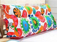 Abnehmbare Triangle Bedside Kissen Bett Rückenlehne Kissen Bedside Soft Case Bett Kissen ( farbe : #15 , größe : 150cm )