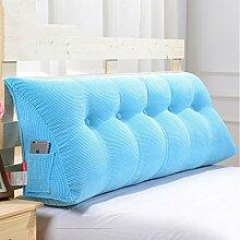 Abnehmbare Triangle Bedside Kissen Bett Rückenlehne Kissen Bedside Soft Case Bett Kissen ( farbe : # 3 , größe : 100cm )