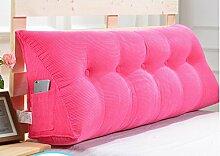 Abnehmbare Triangle Bedside Kissen Bett Rückenlehne Kissen Bedside Soft Case Bett Kissen ( farbe : # 6 , größe : 100cm )