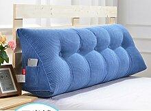 Abnehmbare Triangle Bedside Kissen Bett Rückenlehne Kissen Bedside Soft Case Bett Kissen ( farbe : # 2 , größe : 100cm )