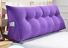 Abnehmbare Triangle Bedside Kissen Bett Rückenlehne Kissen Bedside Soft Case Bett Kissen ( farbe : # 4 , größe : 150cm )