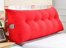 Abnehmbare Triangle Bedside Kissen Bett Rückenlehne Kissen Bedside Soft Case Bett Kissen ( farbe : # 9 , größe : 90cm )